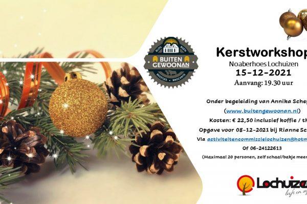 Kerstworkshop 15-12-2021